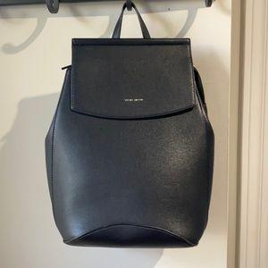 Pixie Mood Mini Kim Black Vegan Leather Backpack